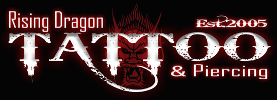 Rising Dragon Tattoo